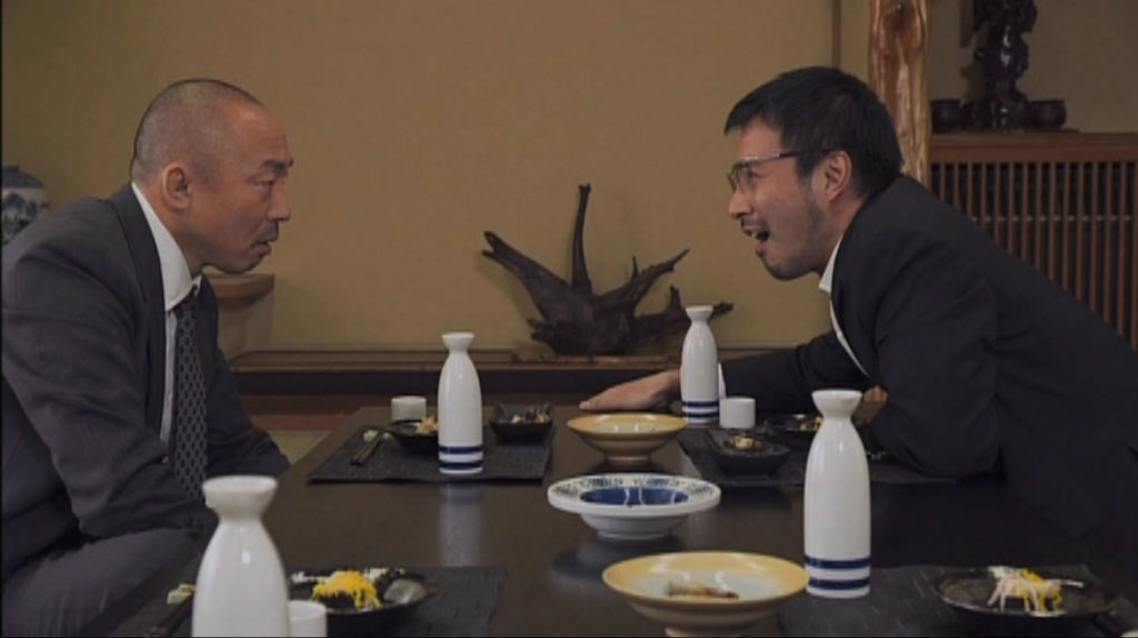 菊村と辰巳が手を組む